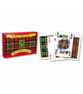 Playing card for Poker-Ramino