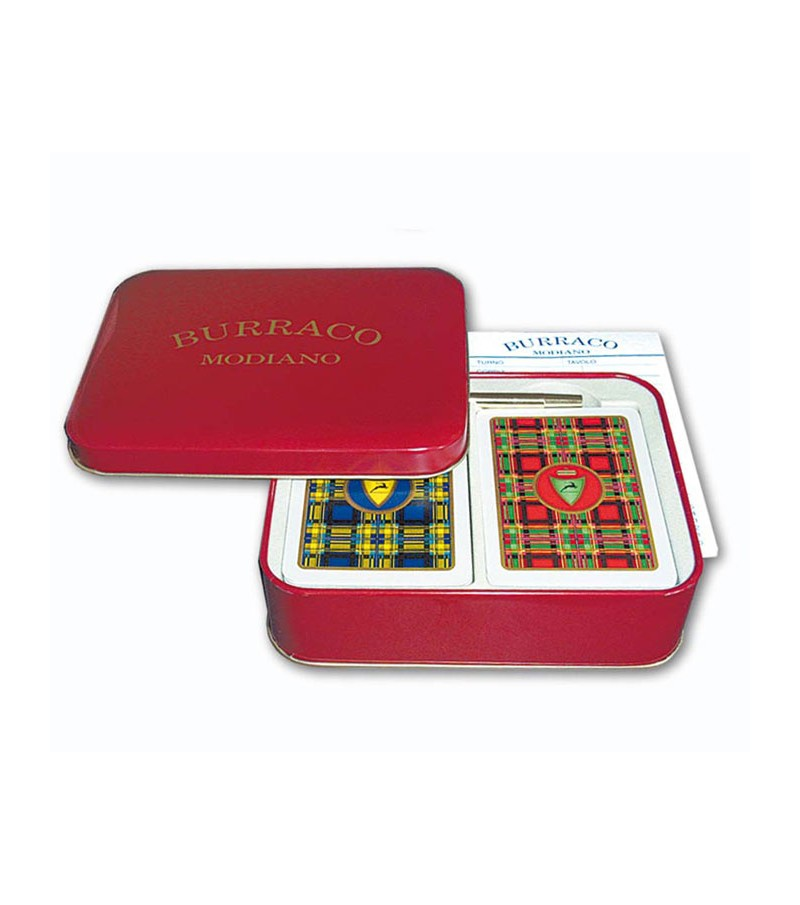 Playing card for Burraco