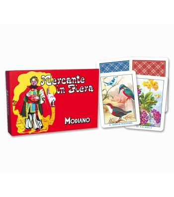 Playing card for Mercante in fiera