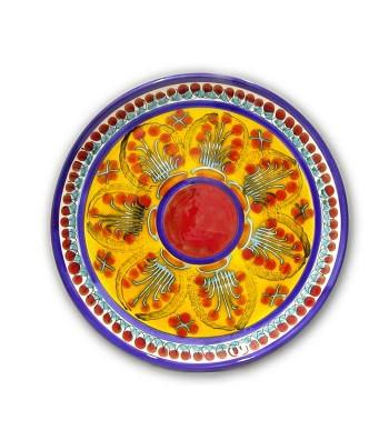 Piatto Tondo decoro Mimosa