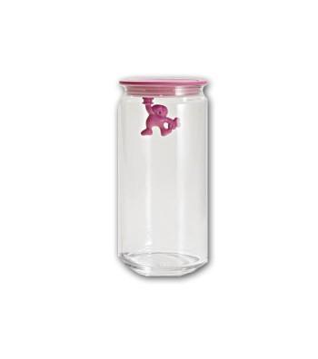 airtight glass jar Gianni design Mattia Di Rosa