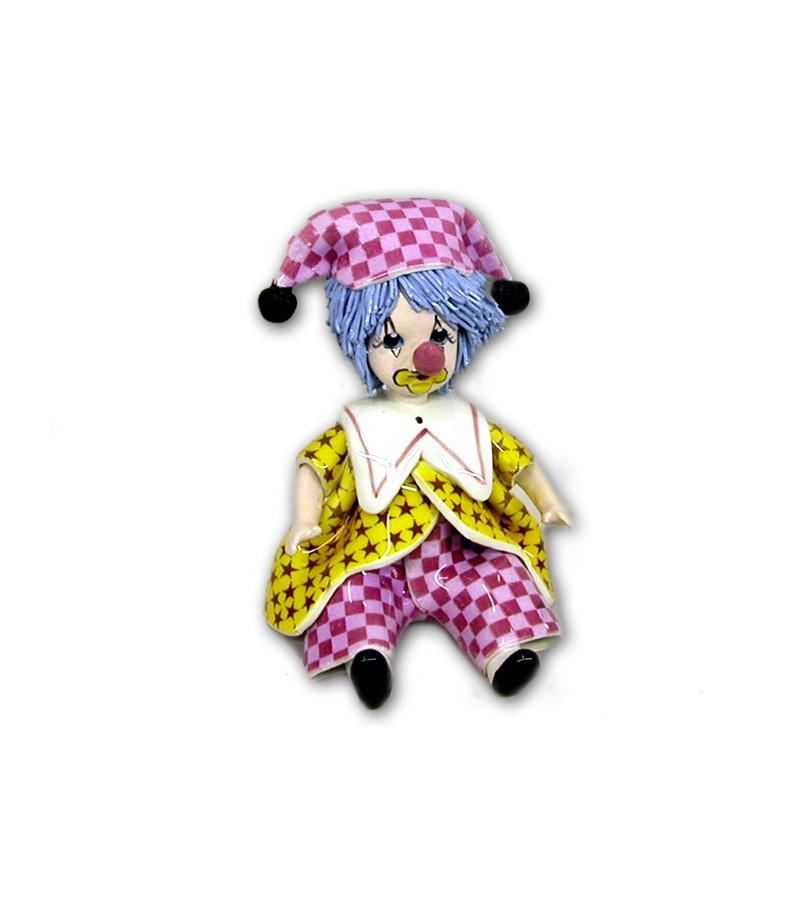 Ceramic Micro Clown Jolly