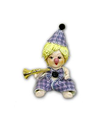 Clown Neonato in Ceramica