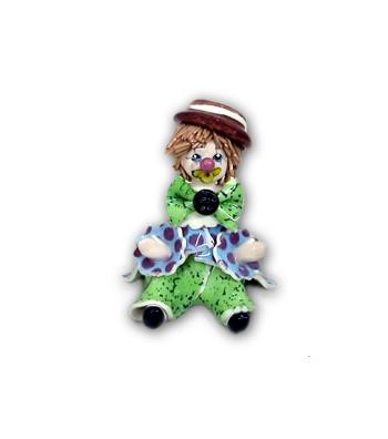 Ceramic Clown Mignon