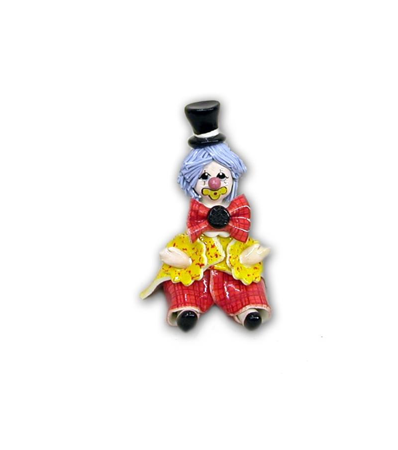 Clown Mignon in Ceramica