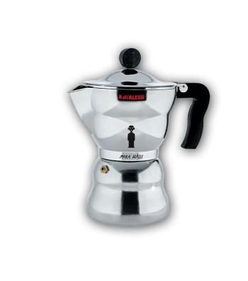 espresso coffee maker Moka 3 cups design Alessandro Mendini