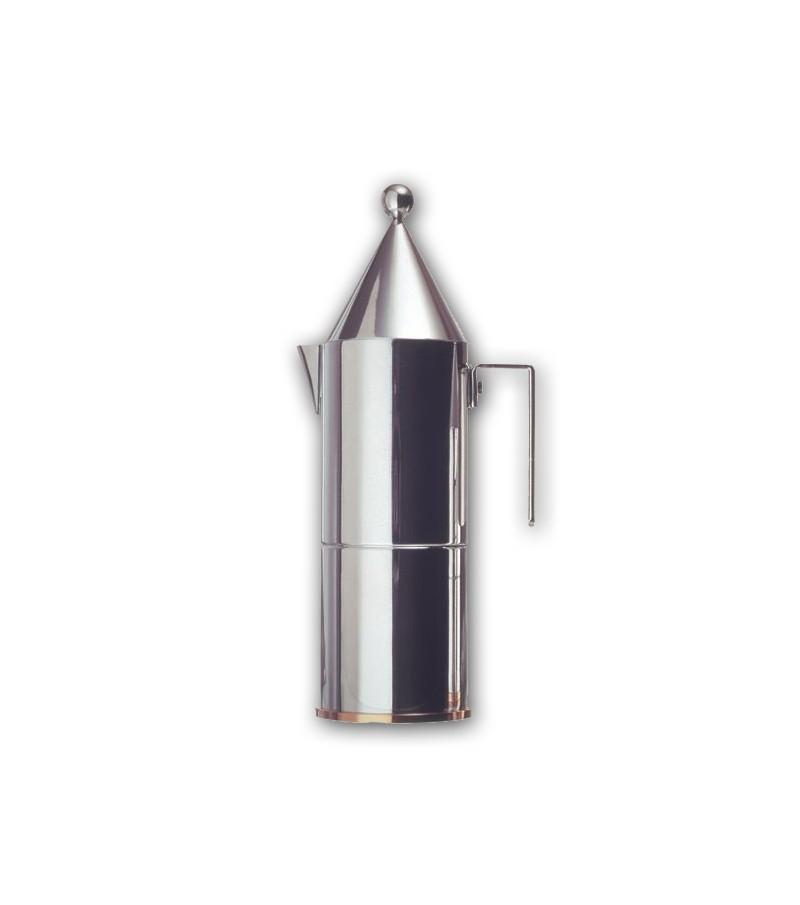 espresso coffee maker 6 cups La Conica design Aldo Rossi