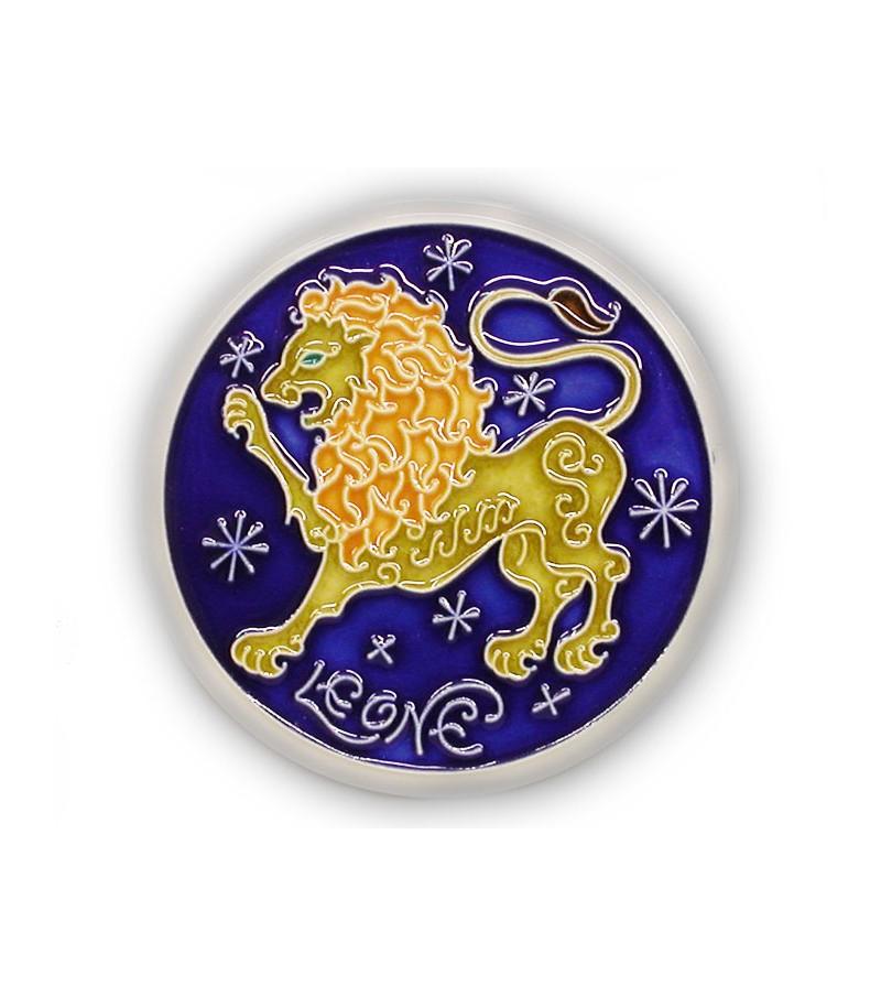 Leo Zodiac Sign on Ceramic Tile