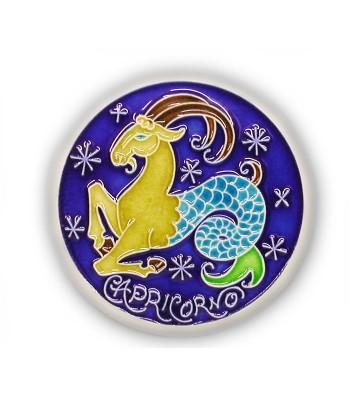 Segno Zodiacale Capricorno su Piastrella di Ceramica
