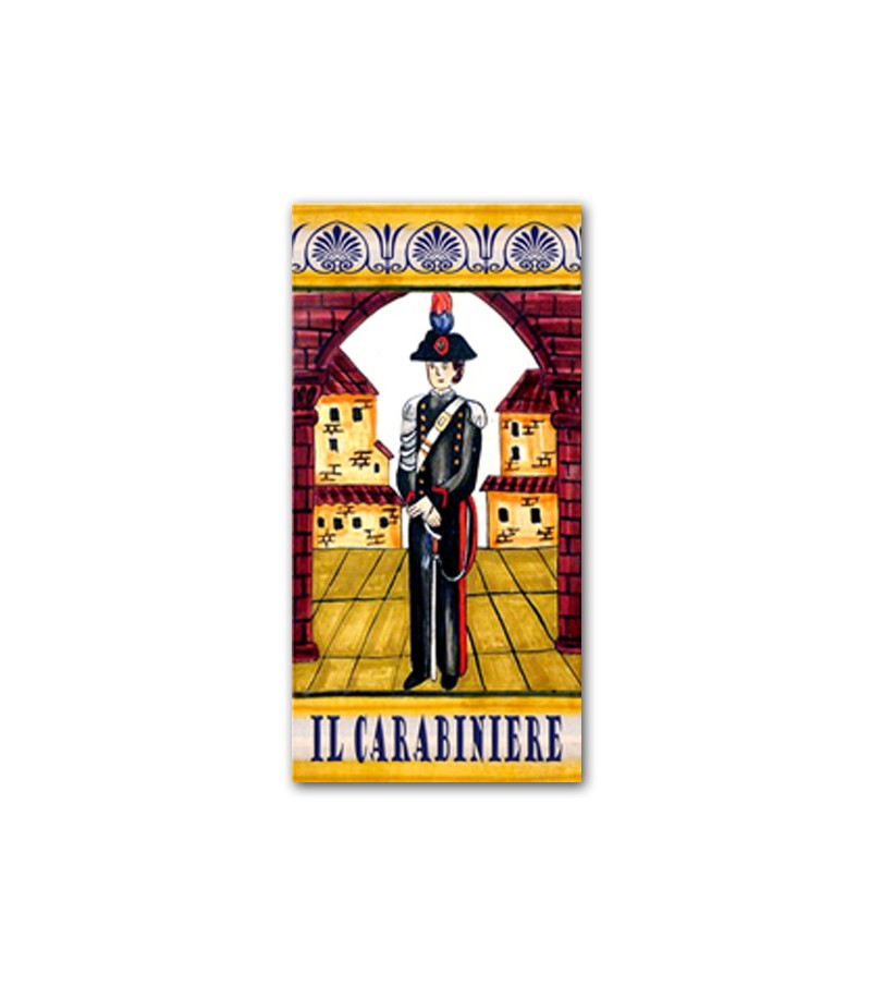 Ceramic Tile the Carabinieer