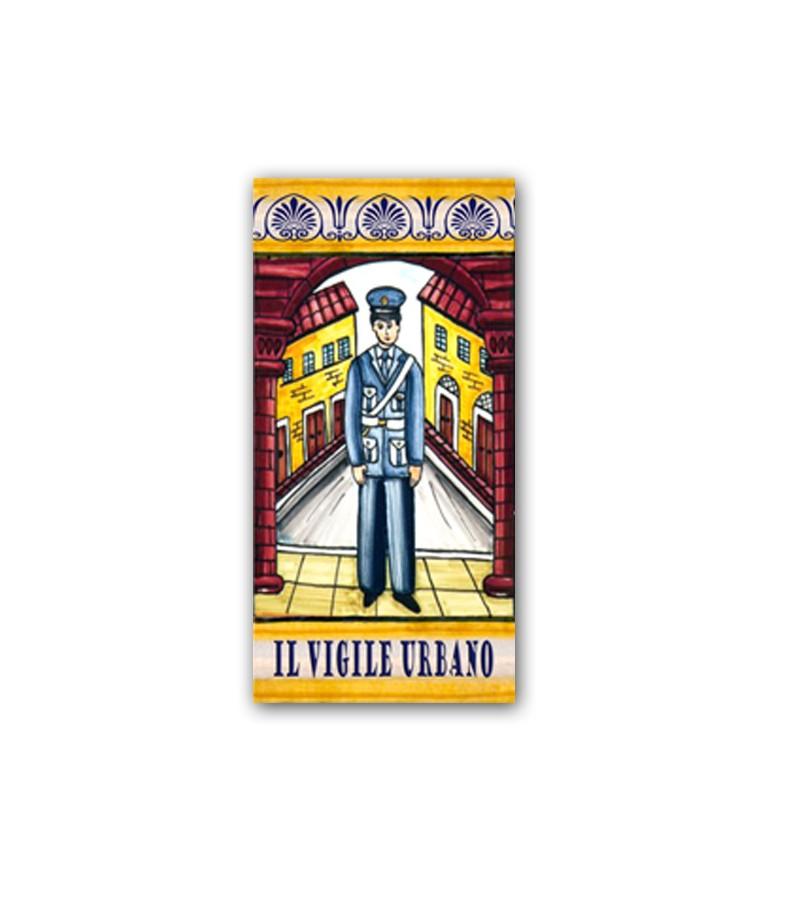 Ceramic Tile the Policeman