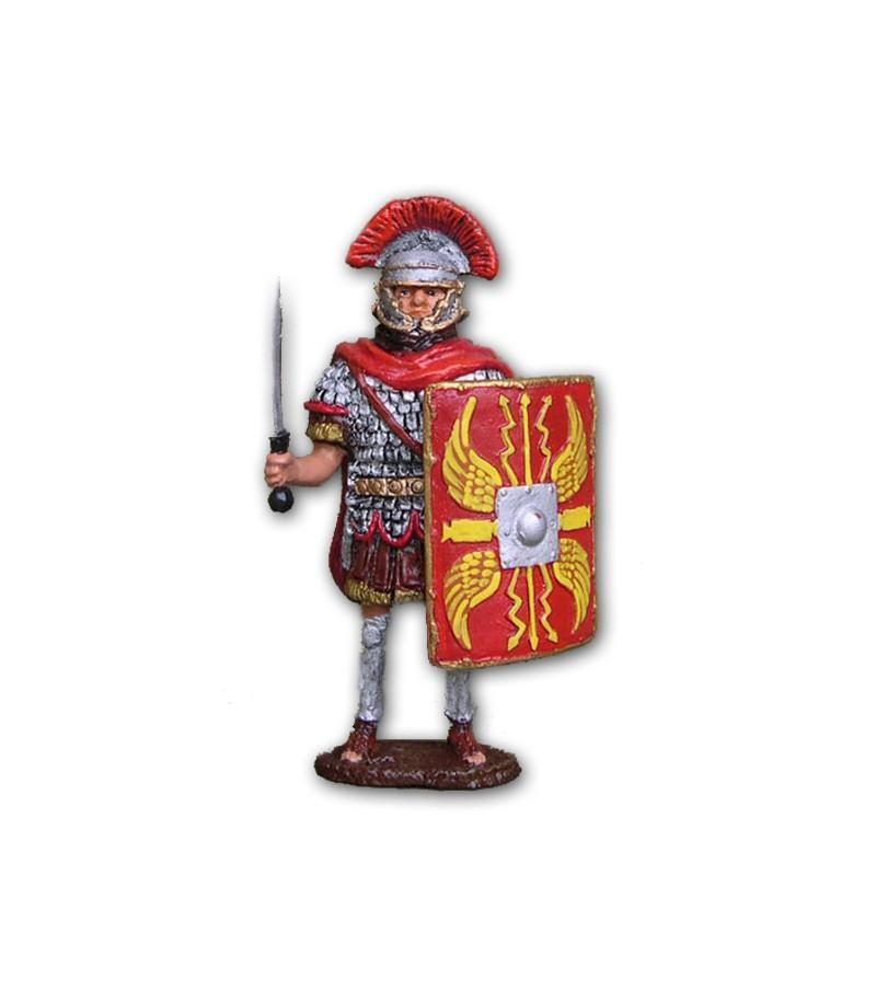 Soldatino Romano Legionario eseguito in lega a base di Stagno