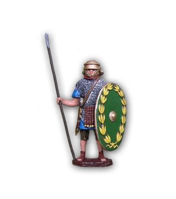 Soldatino Romano Ausiliaro eseguito in lega a base di Stagno