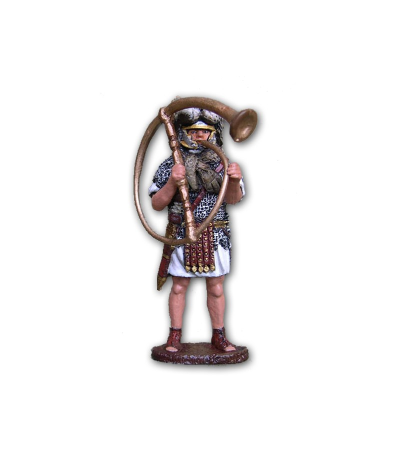Roman Praetorian soldier made of tin-based alloy