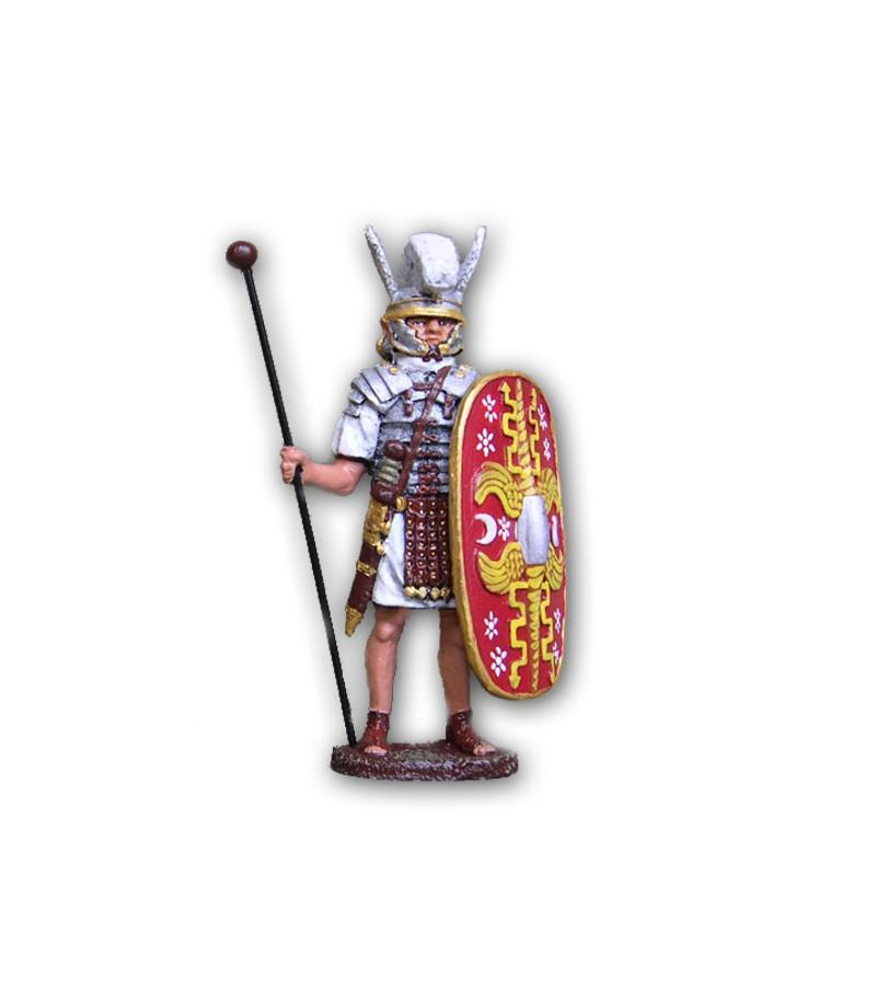 Soldatino Romano Pretoriano eseguito in lega a base di Stagno