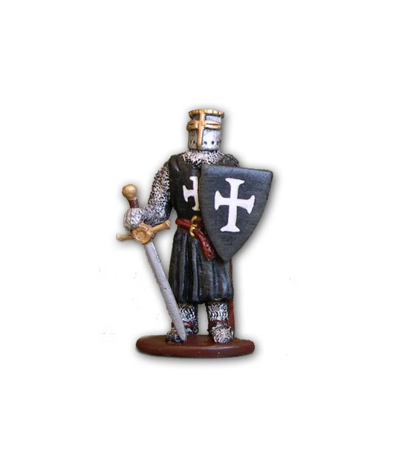 Soldatino Medioevale Ospitaliere eseguito in lega a base di Stagno