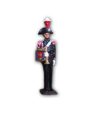 Musical band carbineer soldier made in tin-based alloy