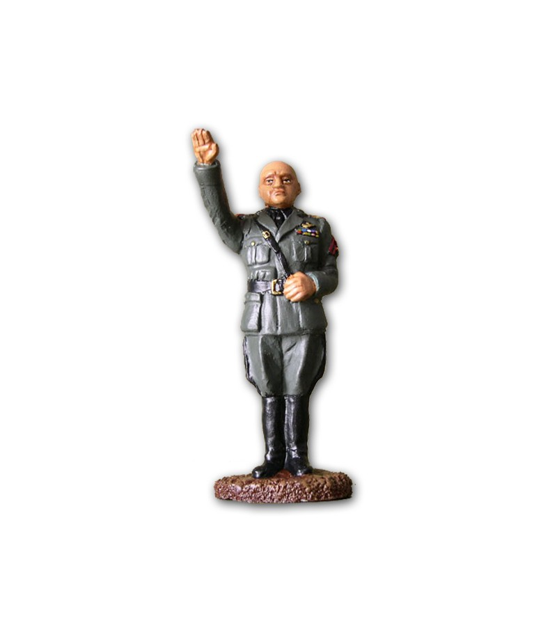 Mussolini soldier made in tin-based alloy