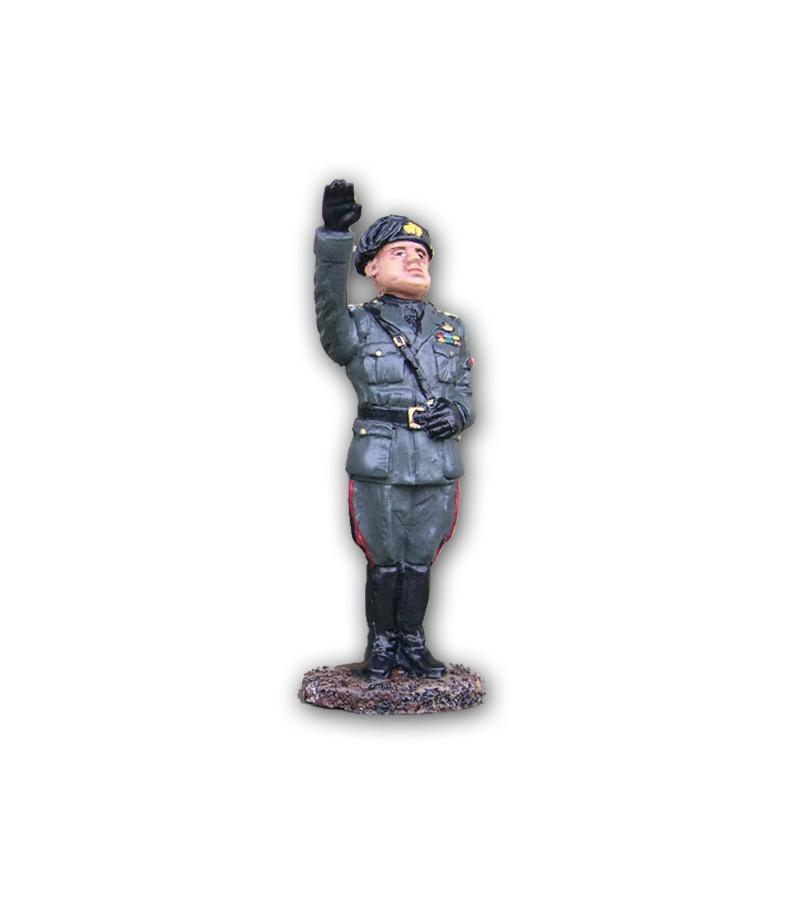 Soldatino Mussolini eseguito in lega a base di Stagno