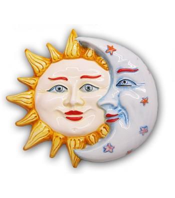 Sole e Luna in Ceramica