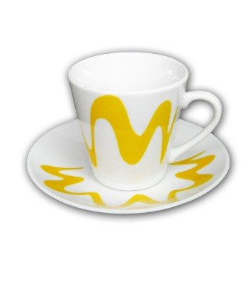 """Coffee cup with saucer model """"Gocciolina"""""""