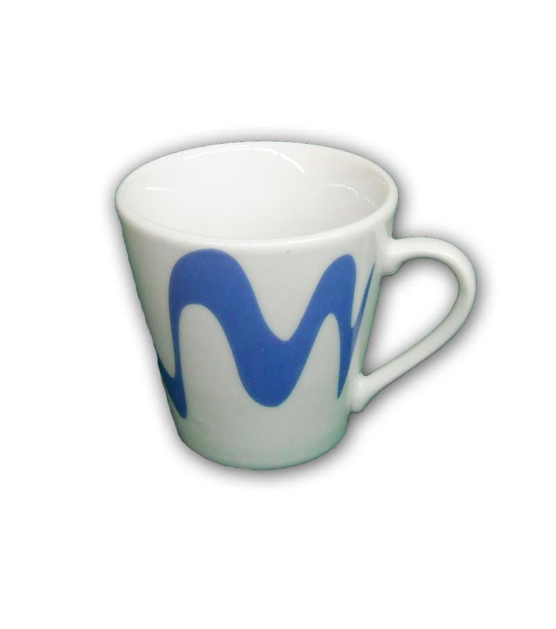 TAZZINA CAFFE' CON MANICO CELESTE