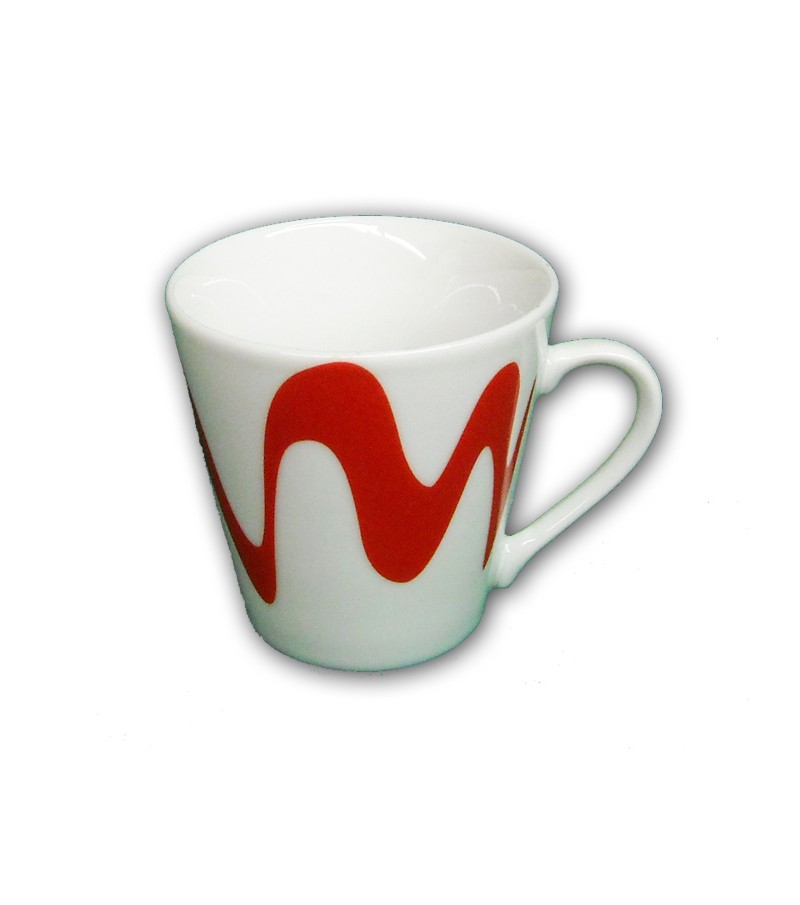 TAZZINA CAFFE' CON MANICO ROSSA