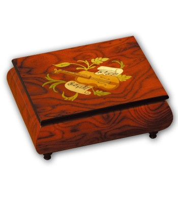 Musical Wood Box Inlay Mandolin