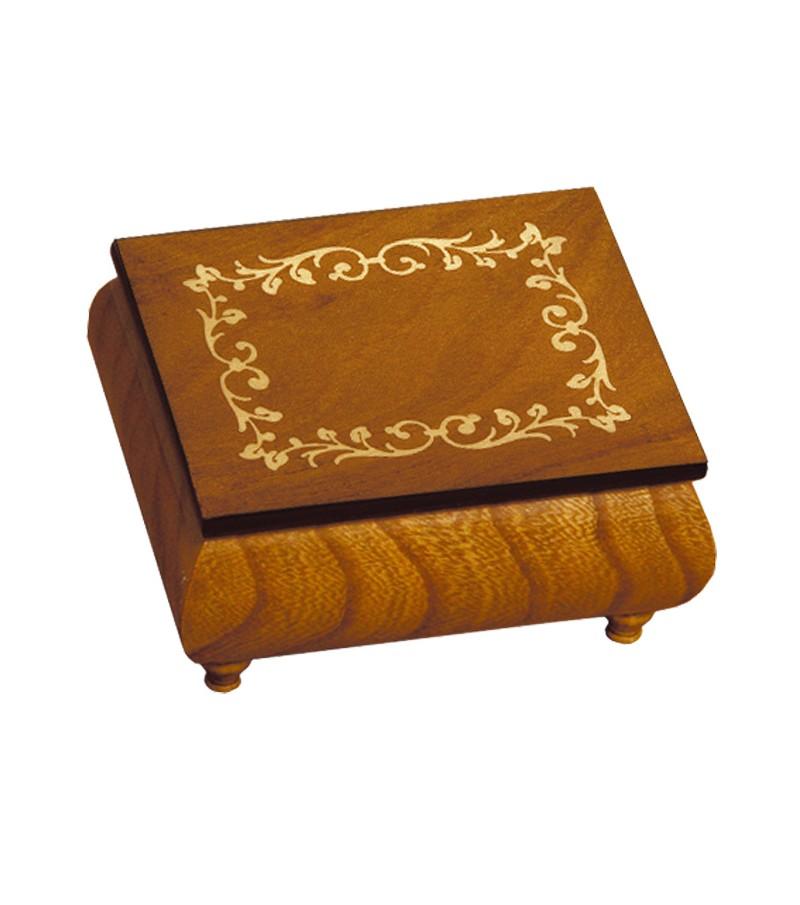 Musical Wood Box Inlay Frame
