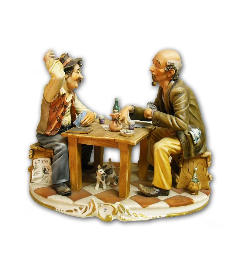 """""""Gioco di Carte"""" in Porcellana Capodimonte"""