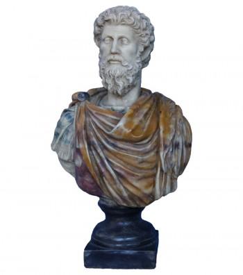 Bust Roman Emperor Marco Aurelio