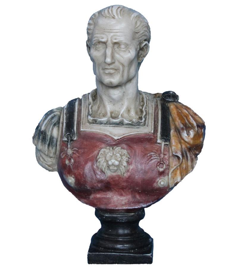 Bust Roman Emperor Giulio Cesare