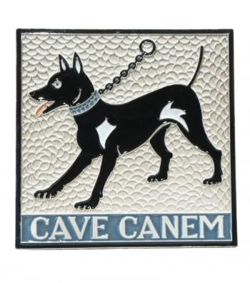 """Piastrella in Ceramica """"Cave Canem"""""""