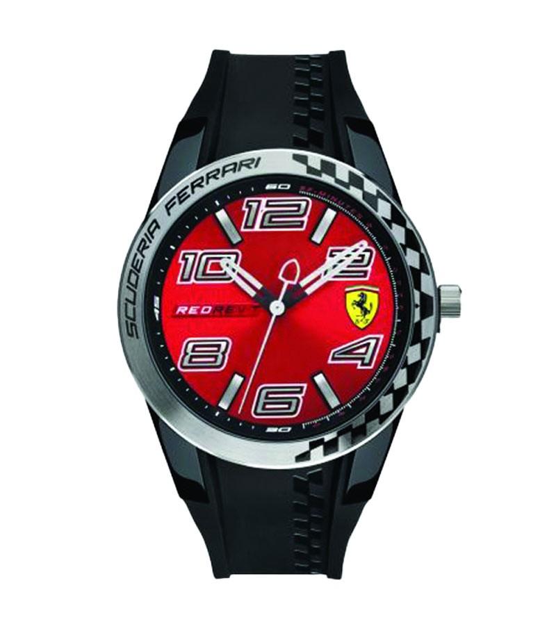 "Orologio Ferrari Analogico ""Red Rev T"""