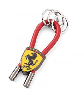 Portachiavi Ferrari Rubber Strap Rosso