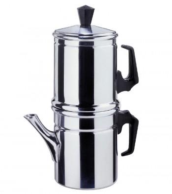 "Drip coffee maker in Alluminium ""Napoletana"""