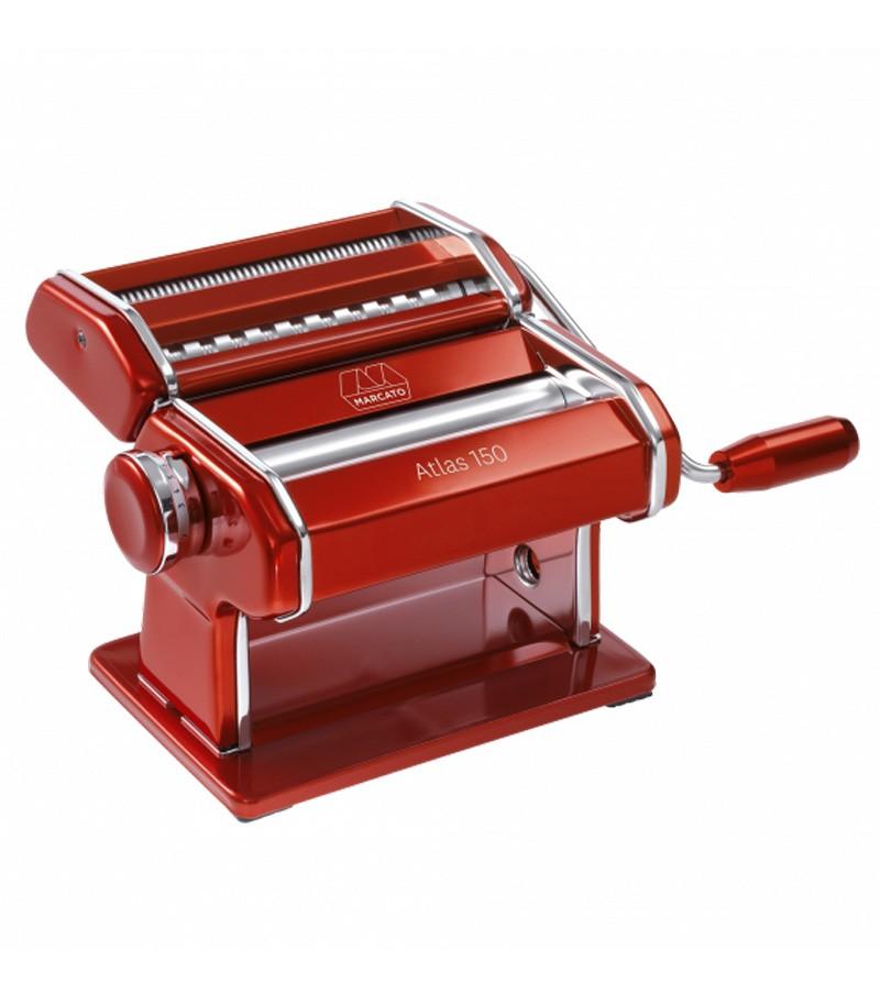 Macchina pasta Atlas alluminio rosso