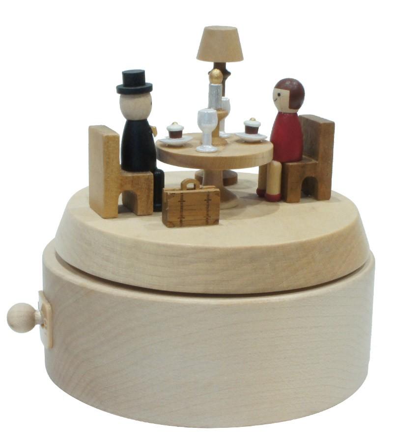 Carillon in legno Cena Romantica