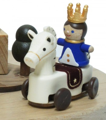 Wooden Music Box Prince