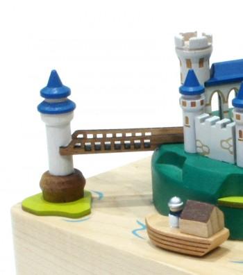 Carillon in legno Castello e ponte