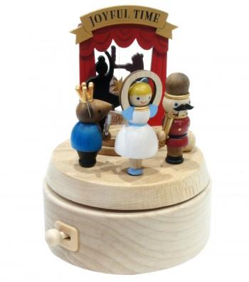 Wooden music box Nutcracker