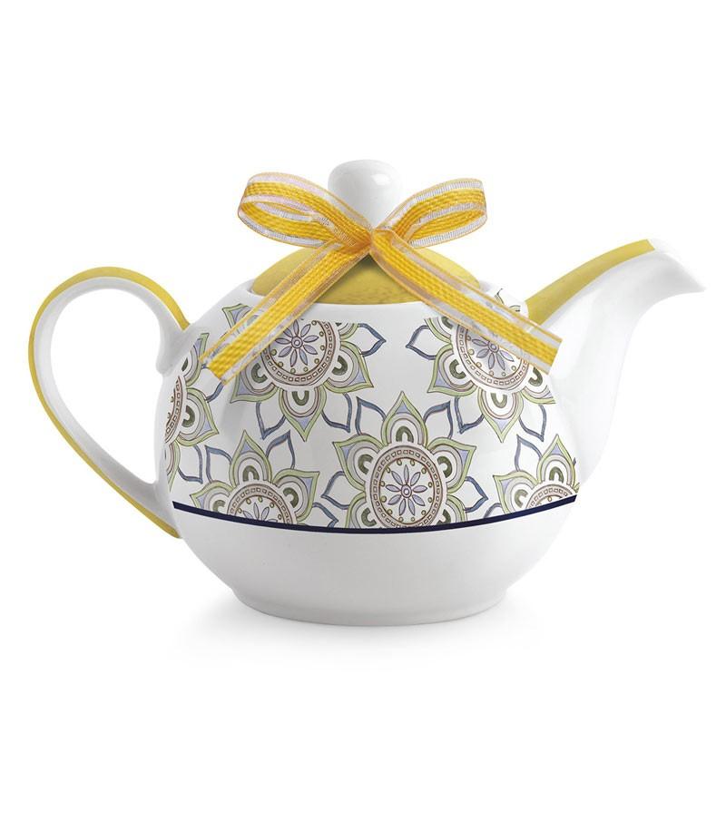"teiera tea for two gialla ""La Saggezza"""