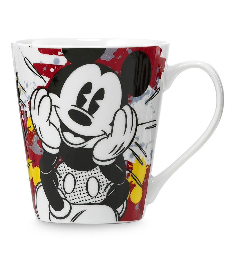 mug Mickey Mouse rossa/gialla