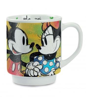 Mickey Mouse stackable green mug