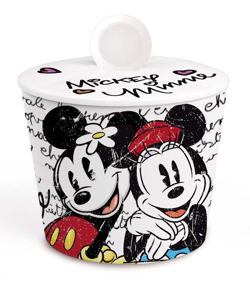 Mickey & Minnie sugar bowl