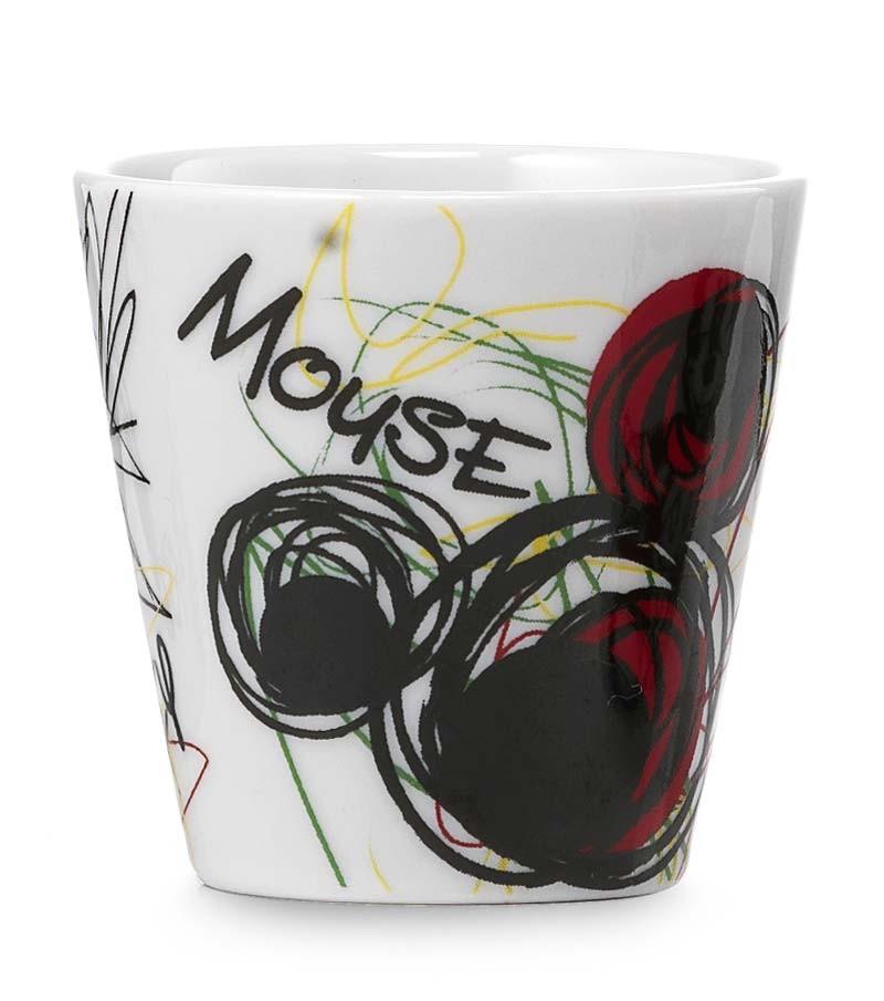 bicchierino da caffè Mickey graffiti