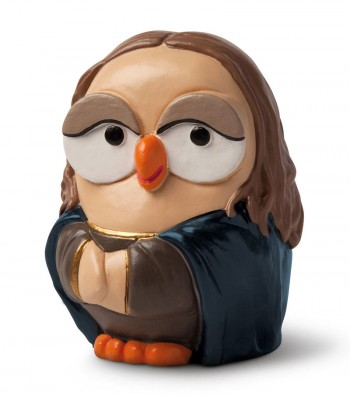 "ceramic figurine goofo ""Gioconda"""