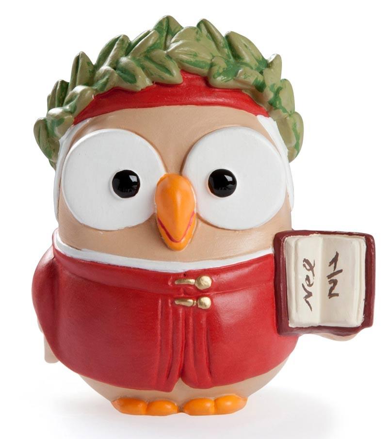 """ceramic figurine goofo """"Dante Alighieri"""""""