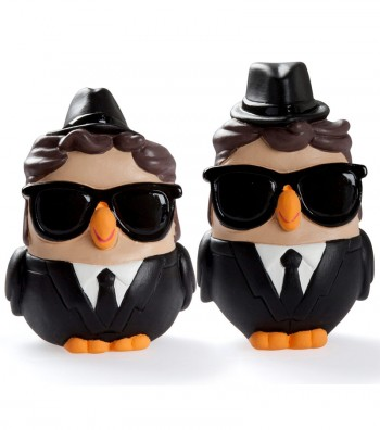 "ceramic figurine goofi ""Blues Brothers"""