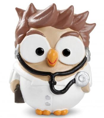 "ceramic figurine Goofo ""Doctor"""